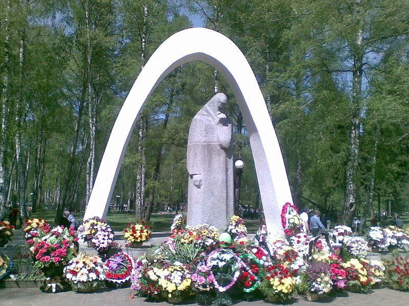 Мемориал павшим в годы Великой Отечественной войны город Новомосковск