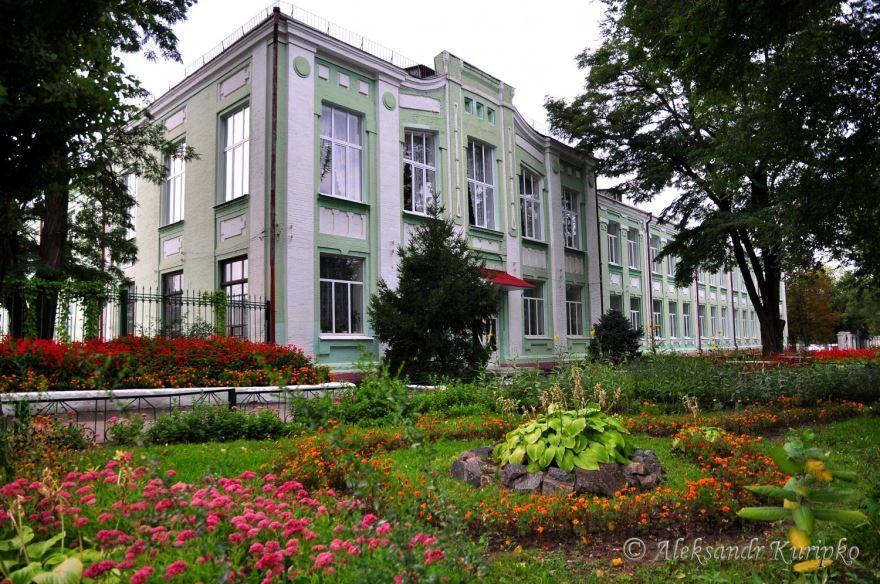 Школа города Новомосковск 2018