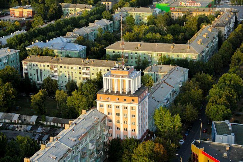 Смотреть лучшее фото красивый вид сверху город Новомосковск
