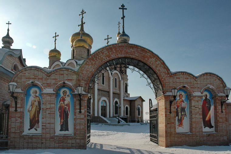 Собор Петра и Павла город Новотроицк