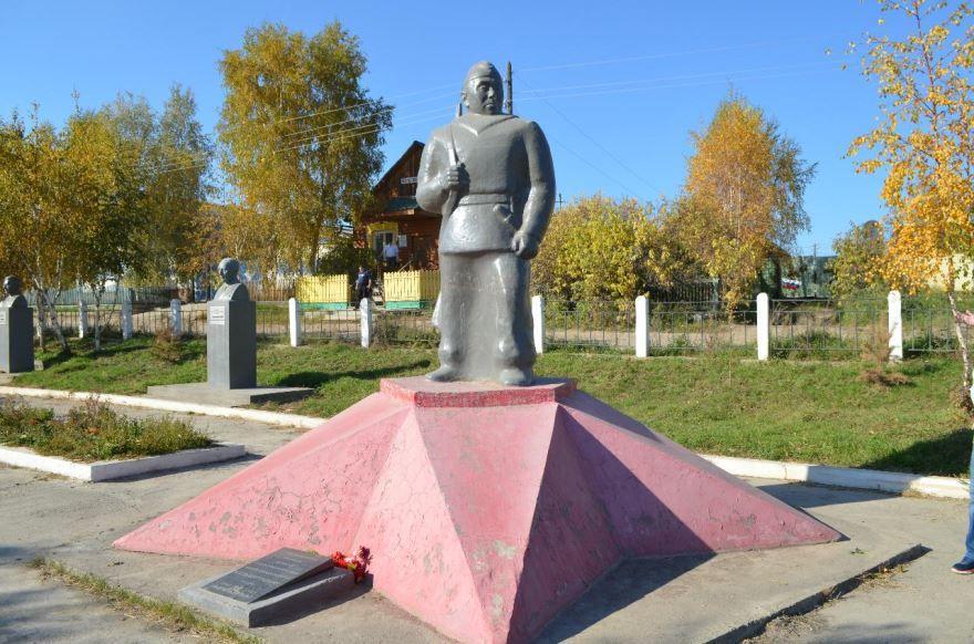 Аллея Кульбертинова город Олекминск