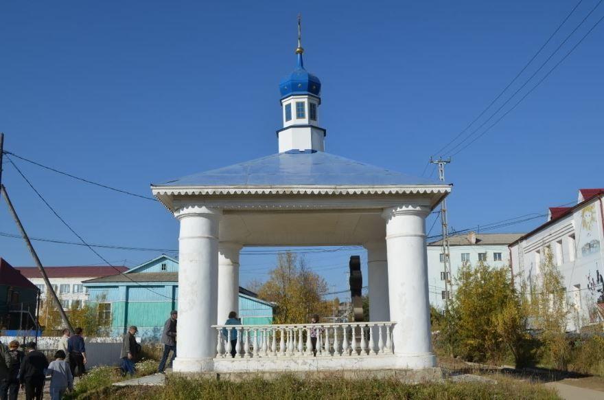 Часовня Александра Невского город Олекминск