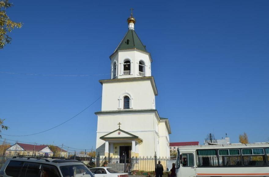 Собор Спаса Преображения город Олекминск