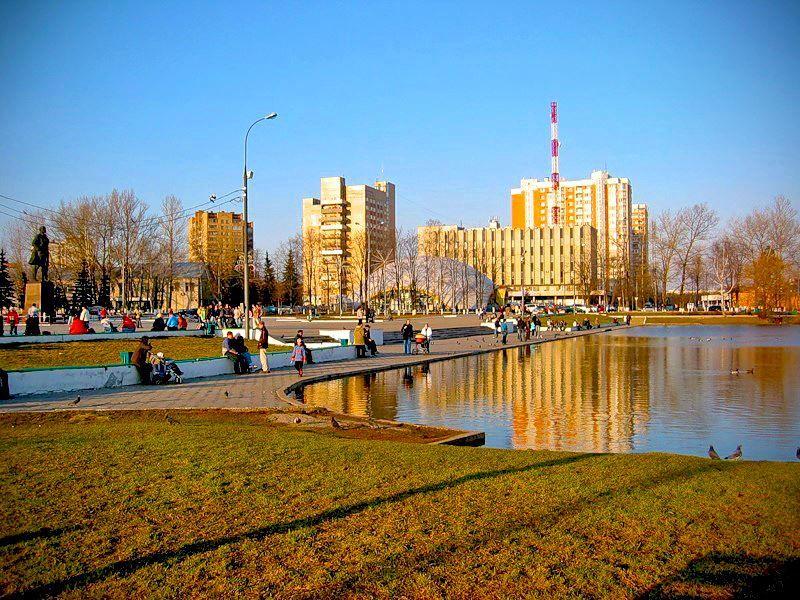 Смотреть красивое фото города Одинцово бесплатно