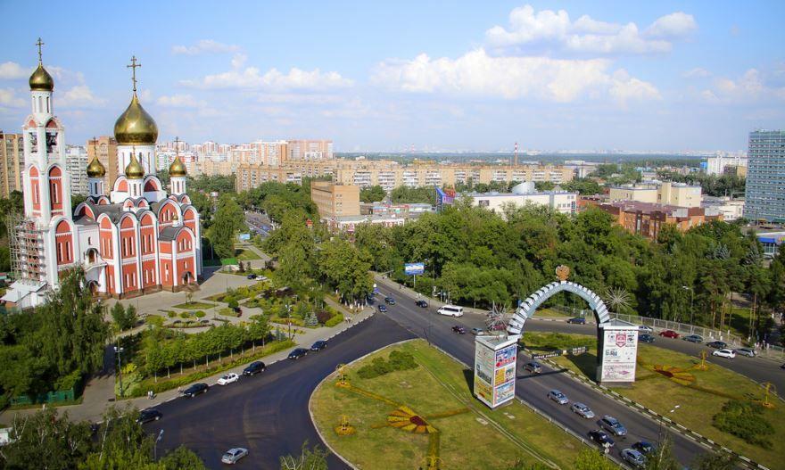 Можайское шоссе город Одинцово 2018