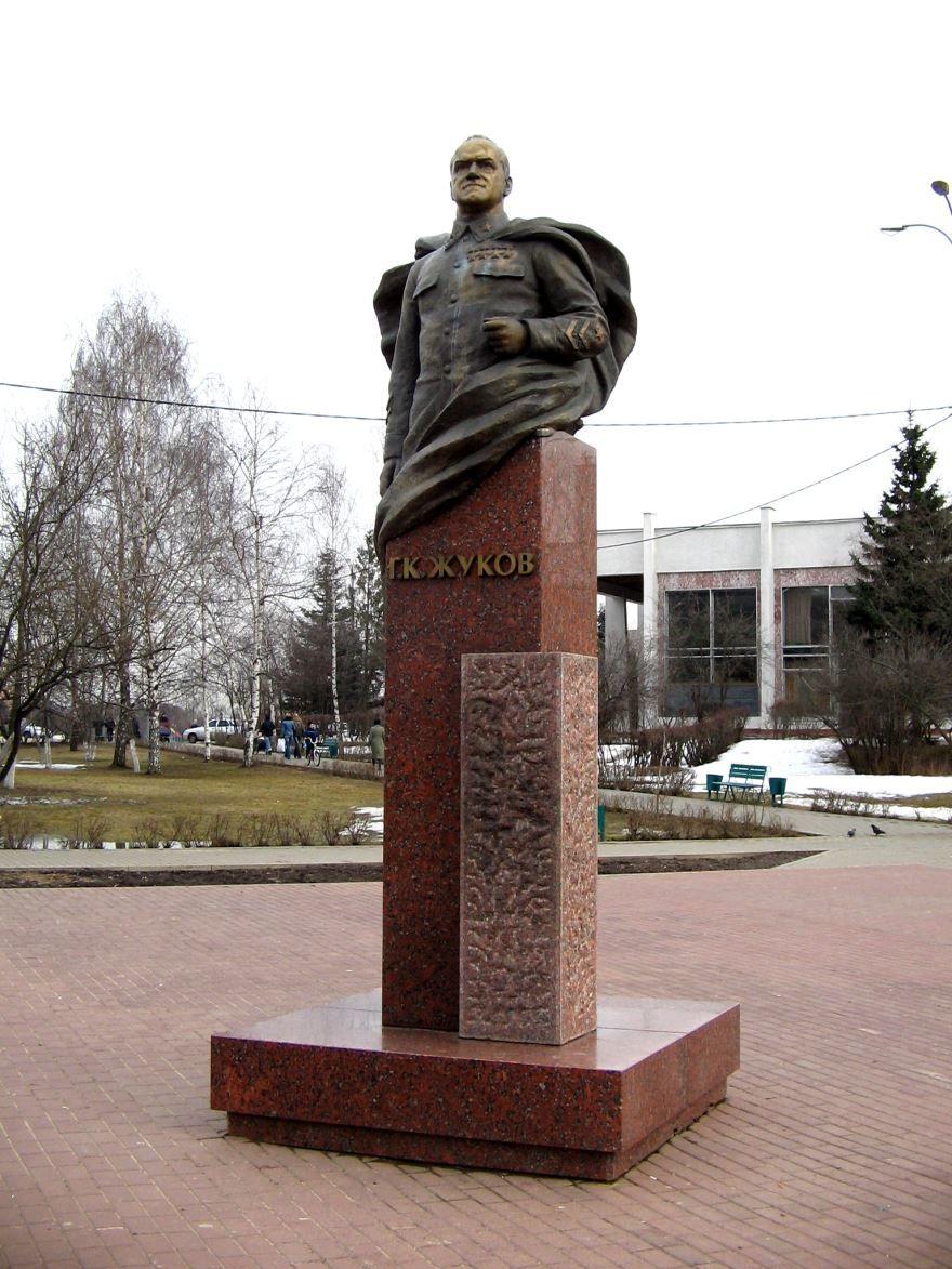 Памятник Жукову город Одинцово