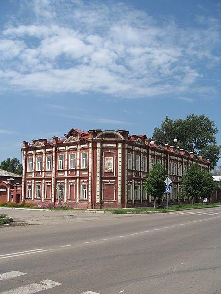Смотреть красивое фото здание с красивой архитектурой 1888 года город Обоянь