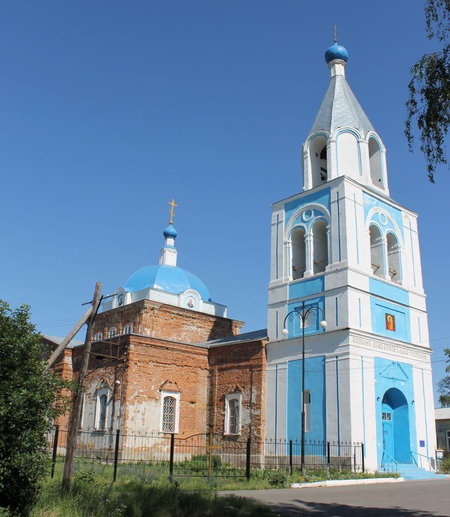 Храм Смоленской иконы Божией Матери город Обоянь