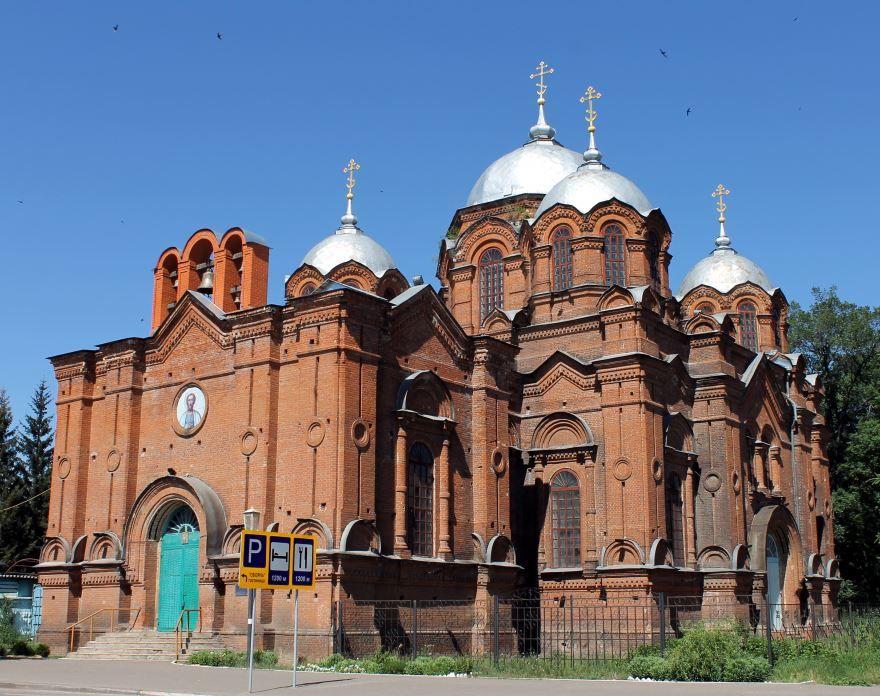 Собор Александра Невского город Обоянь