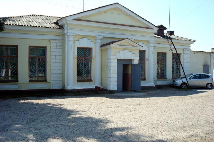Железнодорожный вокзал город Обоянь