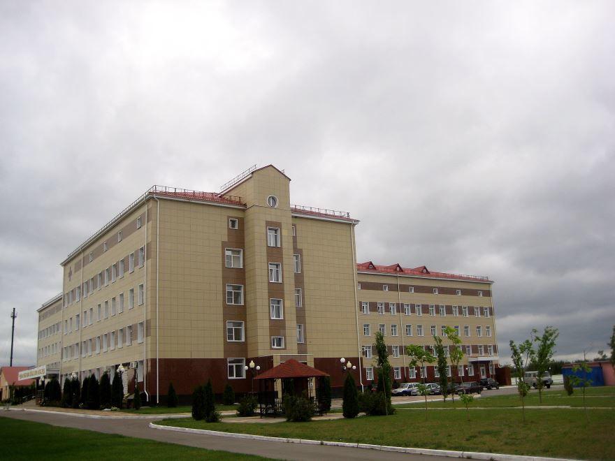 Здание городской больницы город Новохоперск