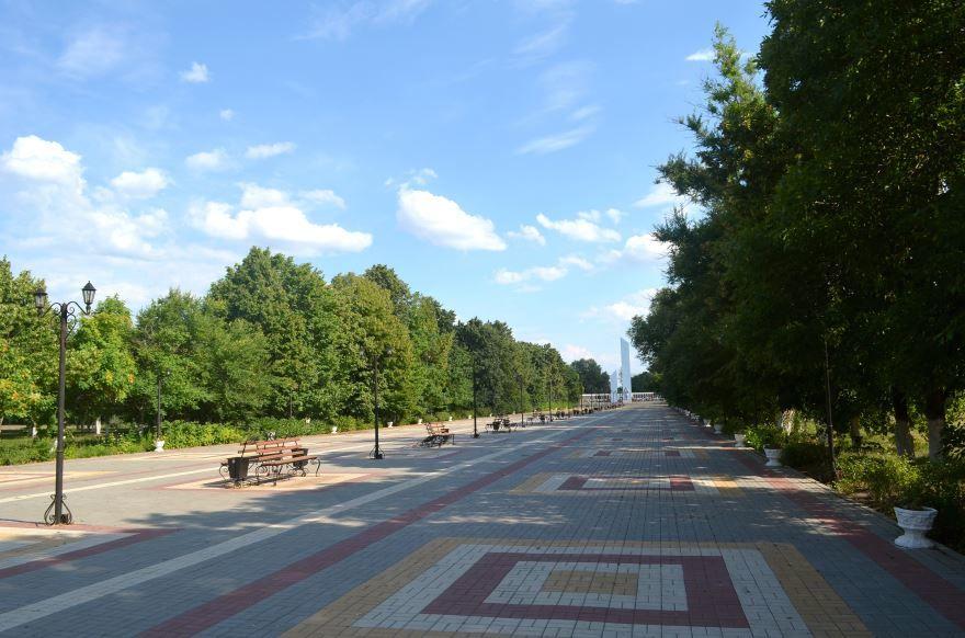 Парк Победы город Новохоперск