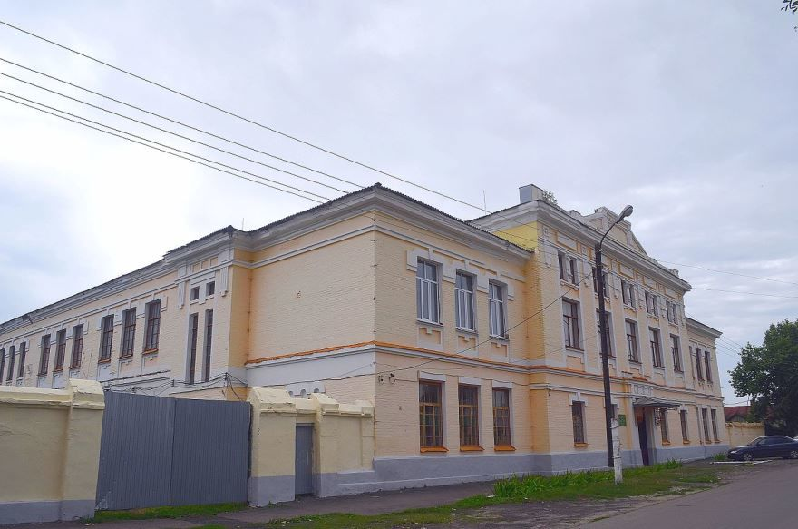 Здание мужской гимназии город Новохоперск