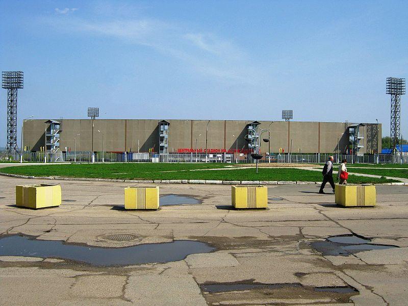 Центральный стадион город Новочебоксарск