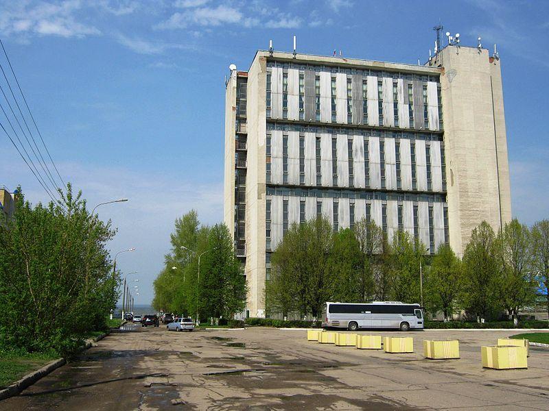 Смотреть красивое фото новостойка в городе Новочебоксарске
