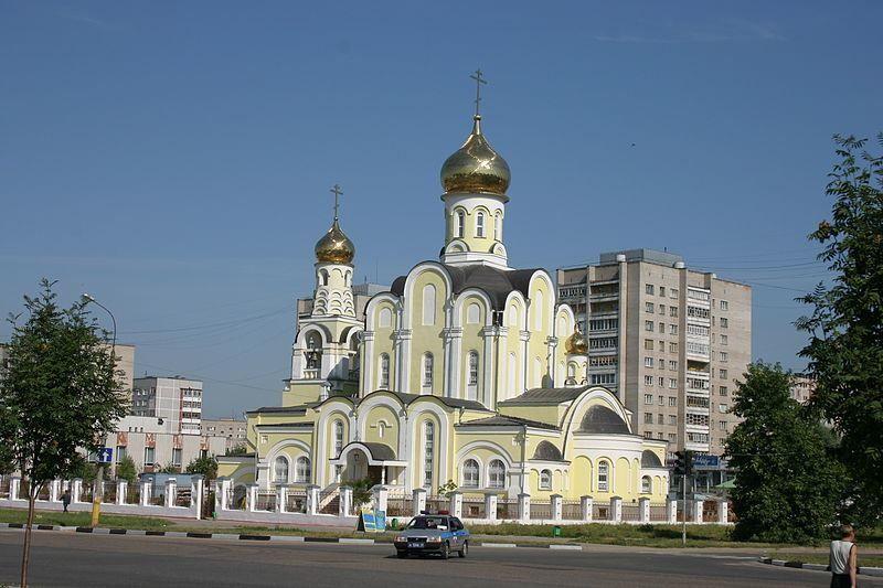 Смотреть красивое фото церковь в городе Обнинск Калужская область