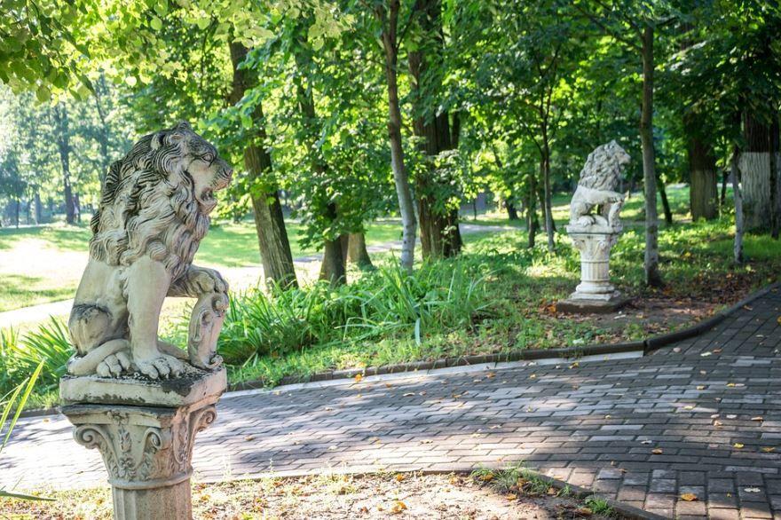 Смотреть красивое фото парка Белкино город Обнинск