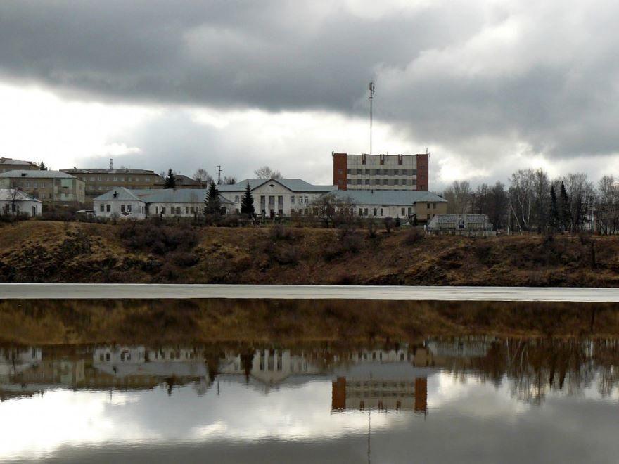 Смотреть лучше фото вид на город Нязепетровск со стороны реки в хорошем качестве
