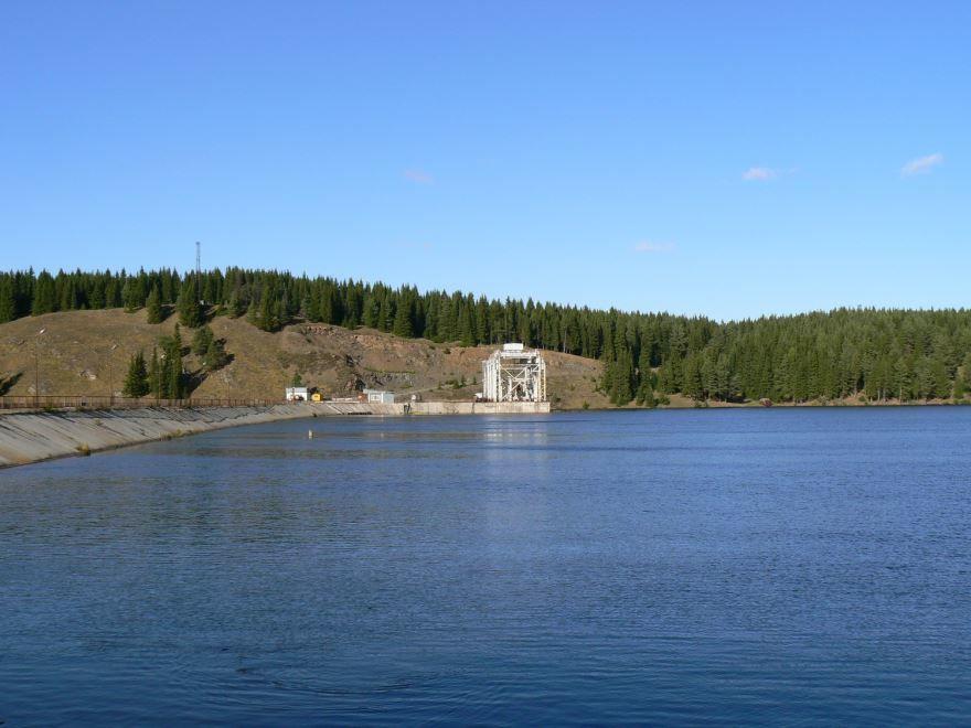 Водохранилище город Нязепетровск