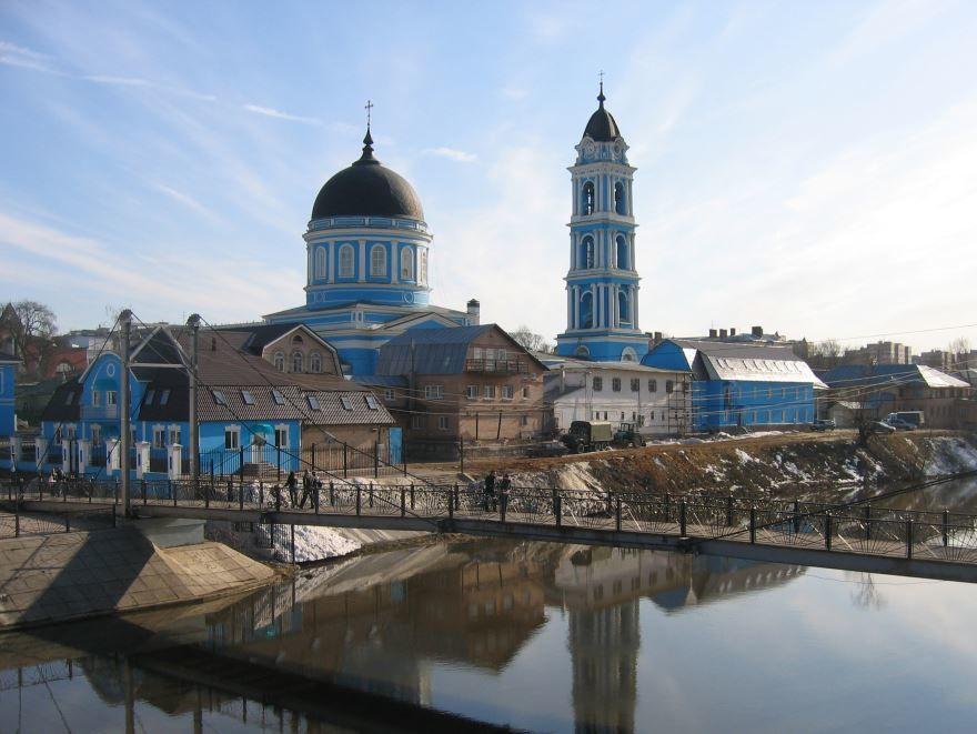 Богоявленный собор город Ногинск