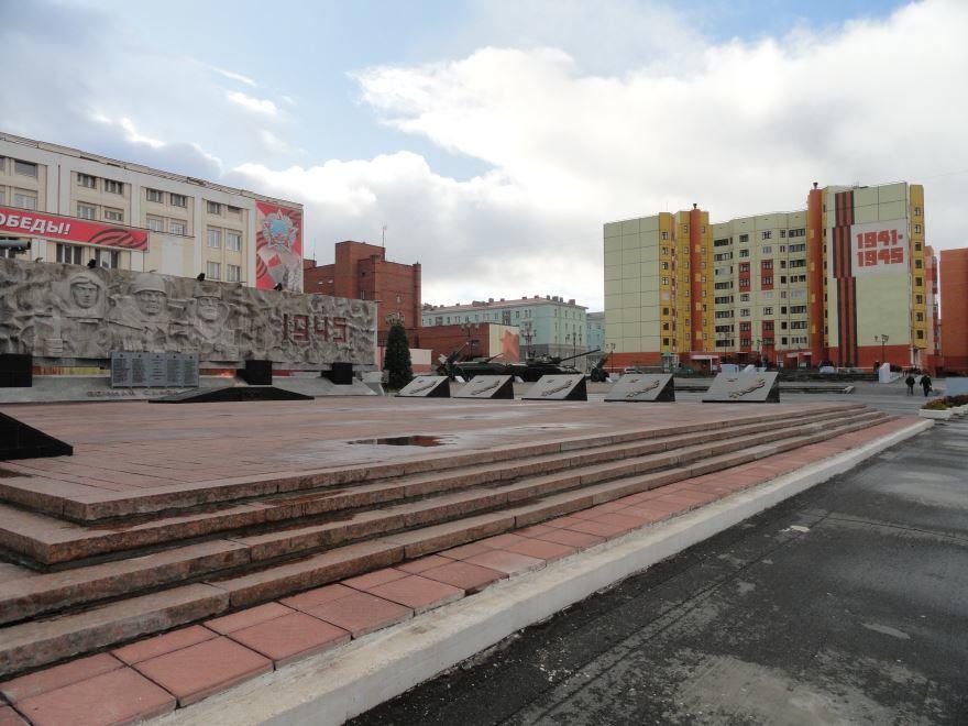Площадь Памяти Героев город Норильск