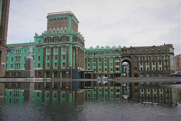 Смотреть красивое фото гостиница Полярная звезда город Норильск