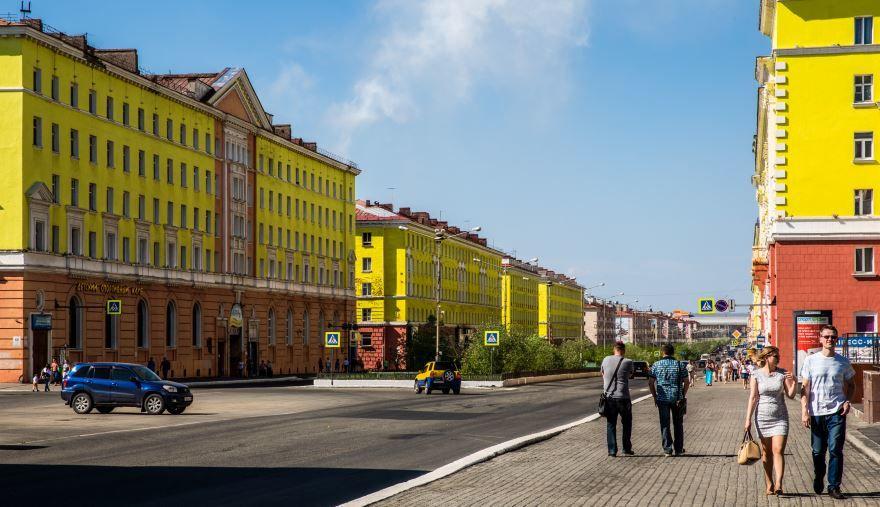 Скачать онлайн бесплатно лучшее фото города Норильска в хорошем качестве