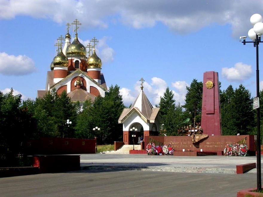 Скачать онлайн бесплатно лучшее фото достопримечательности города Ноябрьск в хорошем качестве