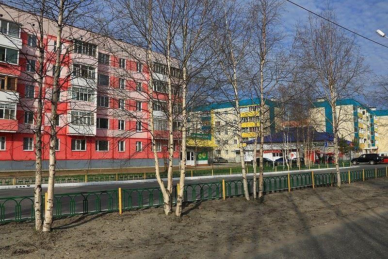 Смотреть красивое фото города Ноябрьска в хорошем качестве