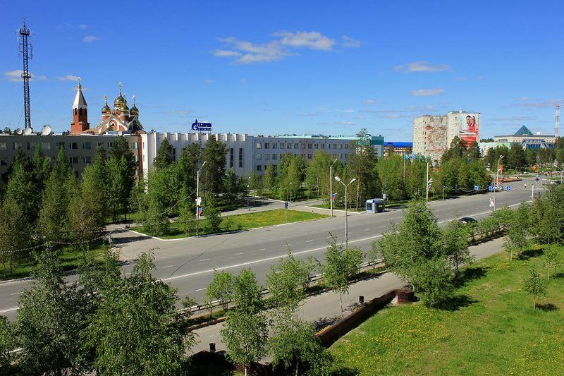 Скачать онлайн бесплатно лучшее фото города Ноябрьск в хорошем качестве