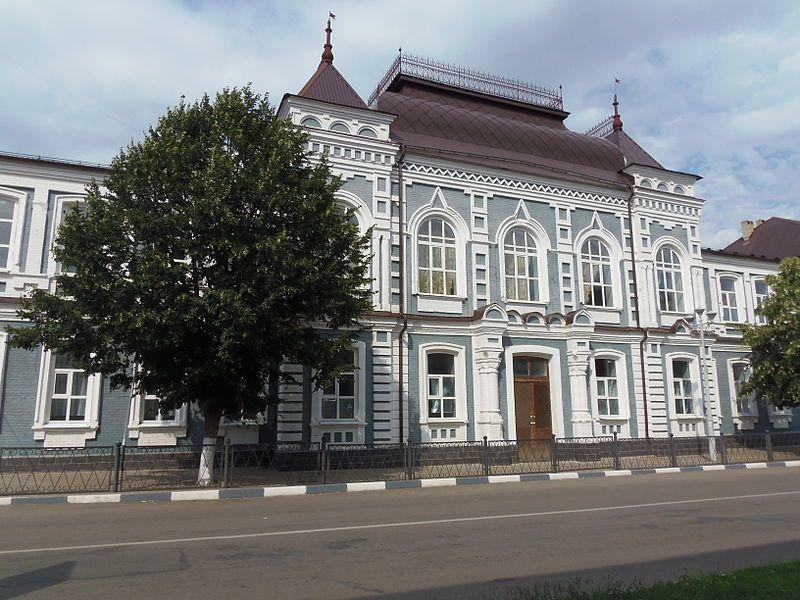 Бывшая женская гимназия город Павловск