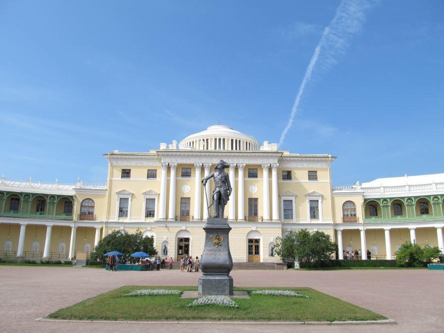 Большой Дворец город Павловск