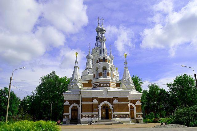 Собор Николая Чудотворца город Павловск