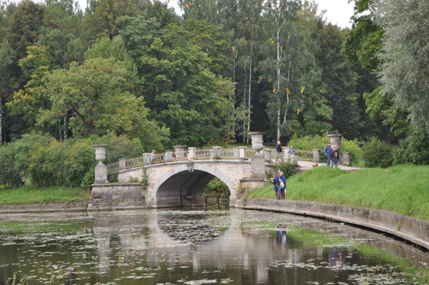 Висконтиев мост город Павловск