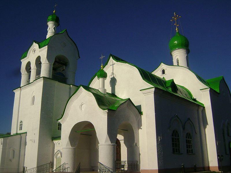 Троицкий храм город Омутнинск