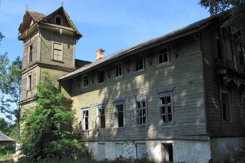 Усадьба Болычева в пригороде Опочки