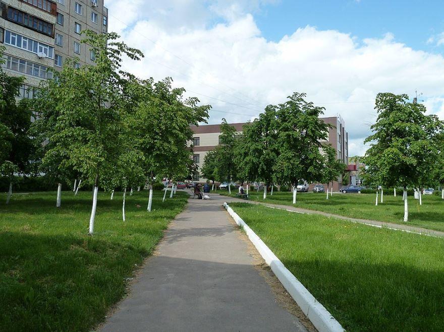 Смотреть красивое фото парки и скверы города Орел в хорошем качестве