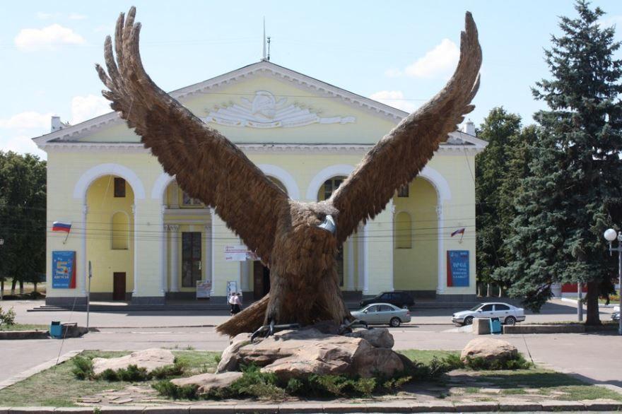 Привокзальный орел в городе Орел 2019