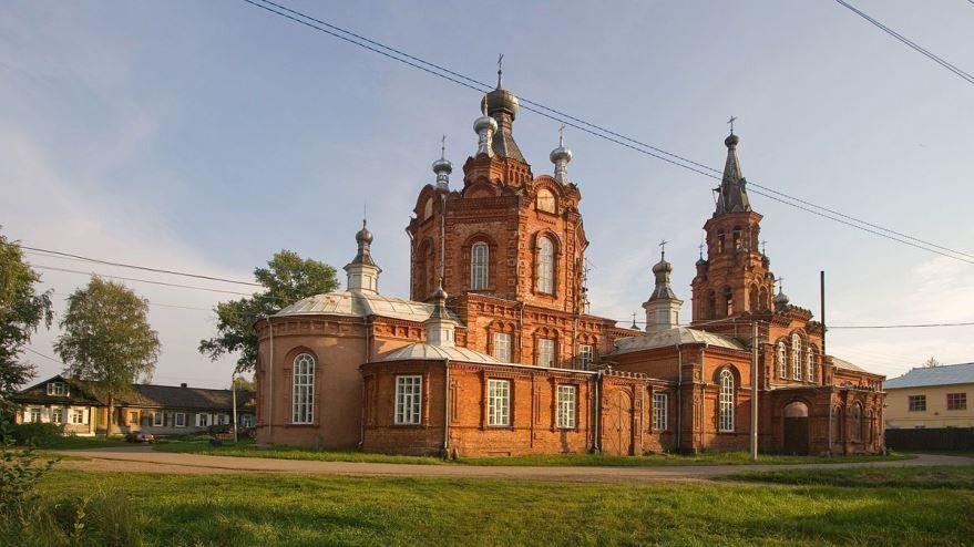 Знаменитый собор город Осташков