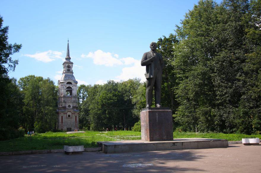 Парк Свободы город Осташков