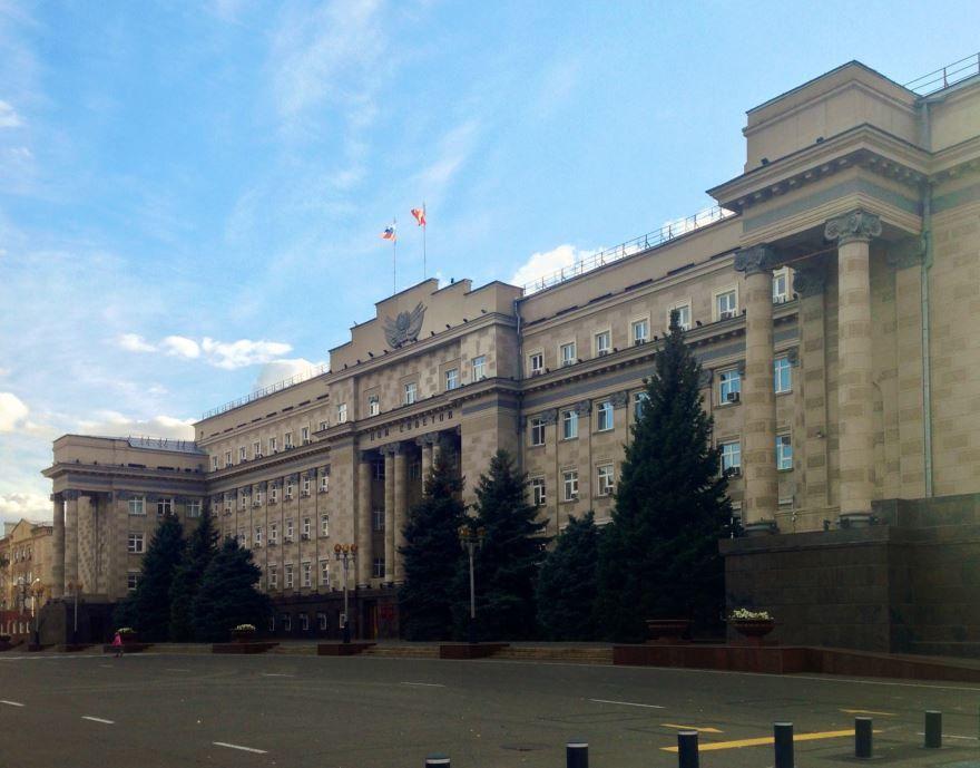 Дом советов город Оренбург