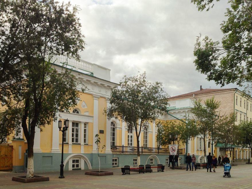 Здание Общественного собрания город Оренбург
