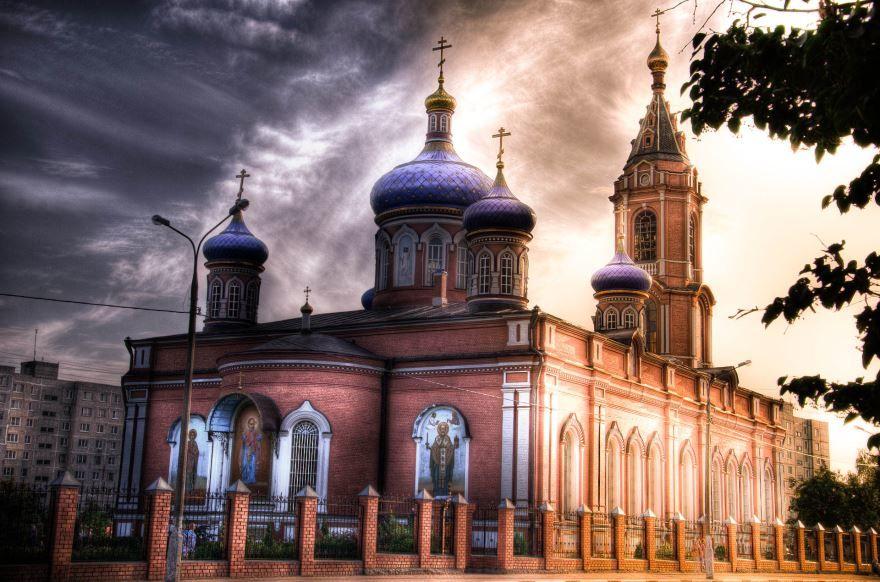 Церковь город Орехово-Зуево