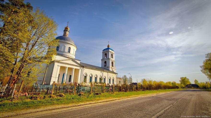 Церковь Успения Богородицы город Орехово-Зуево