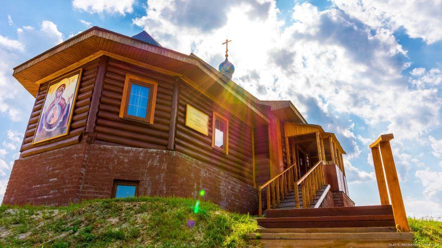 Храм в деревне Новое район Орехово-Зуево
