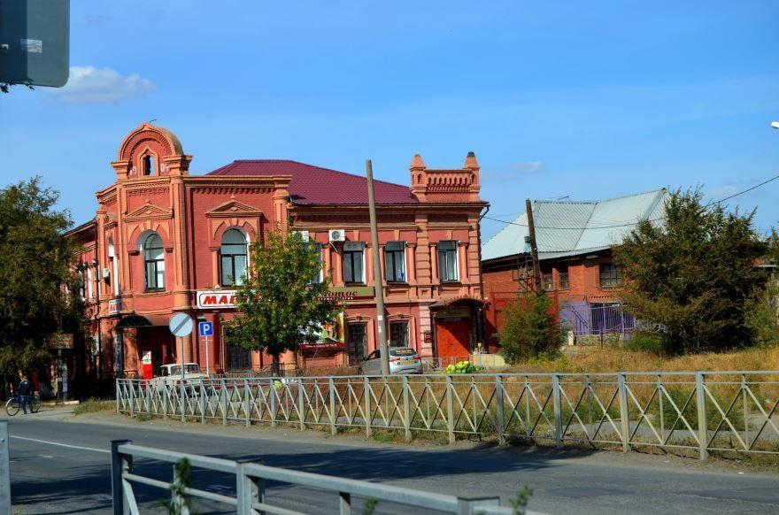 Дом купца Нигматуллина город Орск