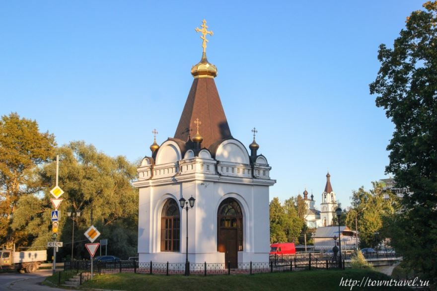 Скачать онлайн бесплатно лучшее фото достопримечательности города Павловский Посад в хорошем качестве