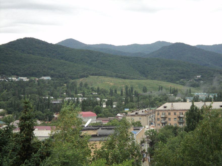 Смотреть красивое фото вид сверху город Партизанск 2018