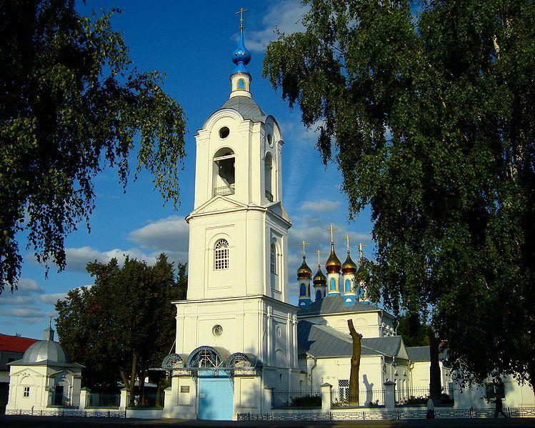 Кафедральный собор Покрова Божией Матери город Покров