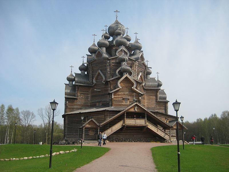 Покровская церковь Невский лесопарк